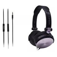 Auriculares Noblex Hp107bs Con Microfono Conector 3.5mm