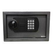 Caja Fuerte Digital Alarma Luz Acero 31x20x20