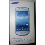Galaxy S3 Mini 8gb Gt-i8190l Marble White, Caja Original
