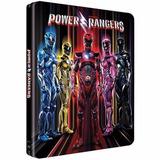 Blu-ray Steelbook Power Rangers - 2 Discos + Hq - Lacrado