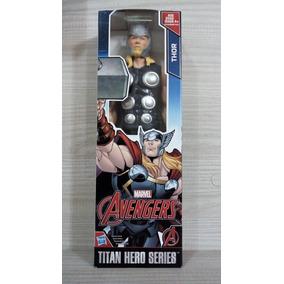 Boneco Thor 30cm Articulado Marvel Avengers Original Hasbro