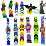 Reloj Para Niños De Avengers, Marvel, Dc, Legos Avengers