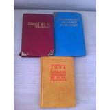 Lote 3 Livros Testemunhas Jeova Antigos