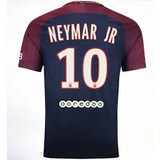Camiseta Nike Paris St Germain 2017-2018 Neymar Junior