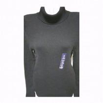Chaleco Con Cuello Gap Original Mujer Talla M Negro Cod 0022