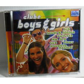 Cd Clube Boys E Girls Lacrado Fabrica - Klb Sandy E Júnior