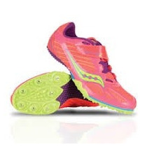 Spikes Tenis Saucony Atletismo Velocidad Talla 23.5 A 24.5