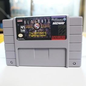 Ultimate Mortal Kombat 3 Umk3 Super Nintendo Snes Novo