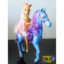 Boneca Monster High Clawdeen Wolf Com Cavalo Mattel