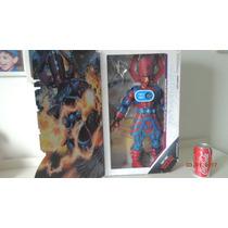 Galactus E Surfista Preateado 46 Cm Com Som Luz Marvel Novo