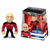 Figura De Acción Star Trek Picard 10cm Die Cast Metal Orig!!