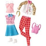 Paquete De La Escuela De Barbie Fashions