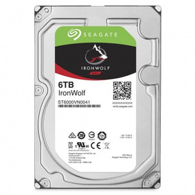 Hd Interno Seagate Nas 6tb St6000vn0041 Ironwolf