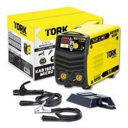 Inversora De Solda Tork Kab 180 C/ Display Digital - Bivolt
