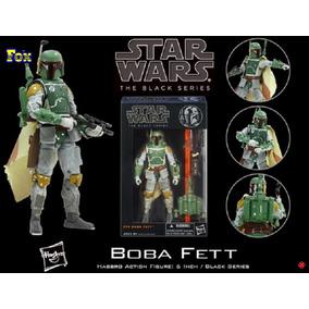 Figura Boba Fett Star Wars Serie Black Nuevo - Arcade Fox