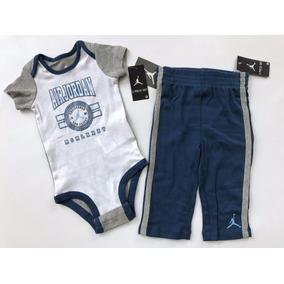 Conjunto Nike Jordan Bebe Pañalero + Pants 552540 Unicos