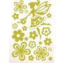 Adesivo Luminoso Fada E Flores Pct.c/03 Toke E Crie