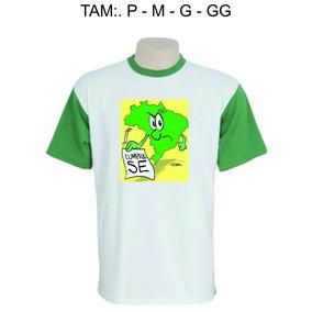 Camisa Personalizada - Brasil Revolução - Cumpra-se