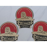 Bicicletas Antiguas Phillips Placa Bronce