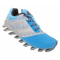 Tênis Adidas Springblade Drive 2015 Azul Bebê E Prata