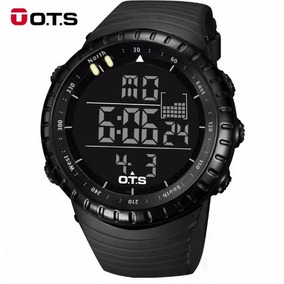 Relógio Digital Militar Ots 50mm Esportivo Masculino Casual