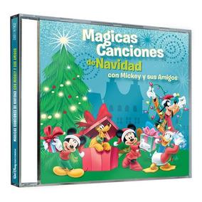 Cd - Magicas Canciones De Navidad Con Mickey Y Sus Amigos