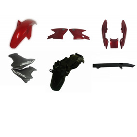 Kit Carenagem Completa Traseiro Factor 125 Vermelho 2011