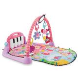 Gimnasio Tapete Piano Musical Fisher Price Bmh48 Rosa