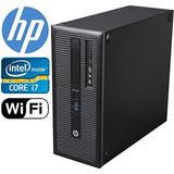 Torre Hp Elitedesk 800 G1, I Hasta 3,9 Ghz, 250 Gb Ssd Ram