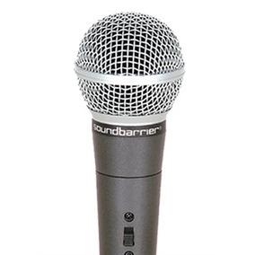 Microfono Soundbarrier Din Con Cable Nuevo Envío Gratis