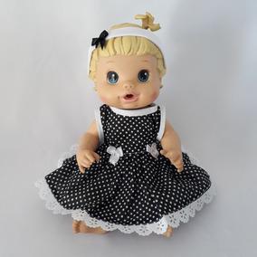 Kit 8 Peças Roupas Vestidos Para Boneca Baby Alive Promoção