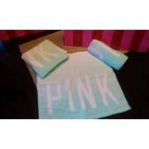 Toallas Faciales Pink Victorias Secret