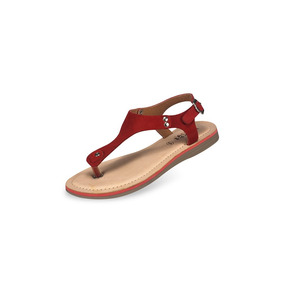 Sandalia Para Dama Mega 1491 Rojo