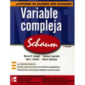Variable Compleja. Serie Schaum
