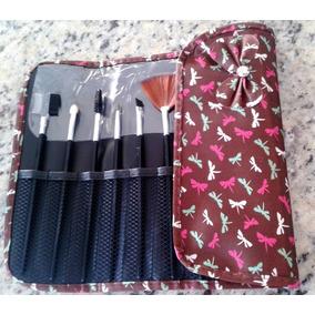 Pincel Maquiagem Kit 10 Pinceis Pó Blush Base Avon Natura