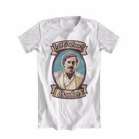 Camiseta Camisa Pablo Escobar Narcos Colombia Netflix
