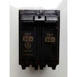 Breker 2x50, 2x60 Y 2x90 Thql Empotrar. General Electric