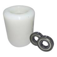 Rodas De Carga De Nylon 80 X 95 C/rolamento