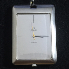 Reloj Omega De Ville 70s Bolsillo Cuerda Manual Suizo Acero
