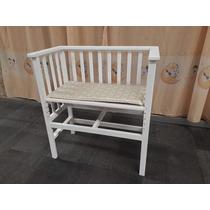 Cuna Moises Bebe En Blanco Satinado, Diseño Propio