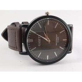 Relógio Masculino Gaiety Pulseira Em Couro