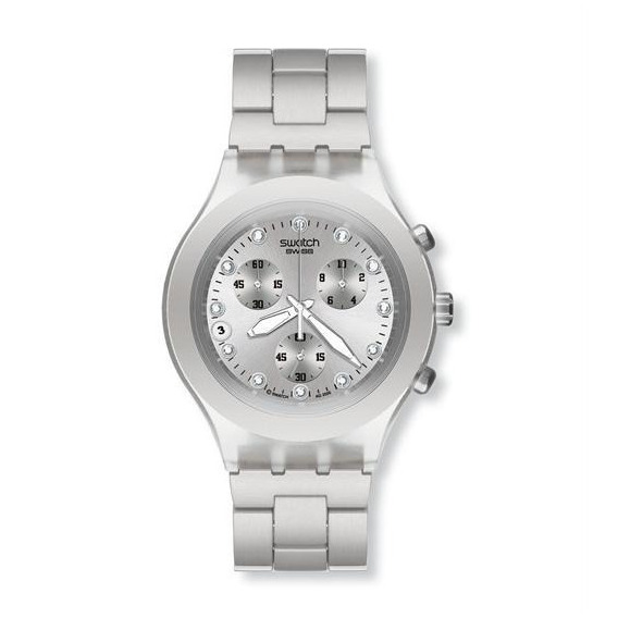 Swatch Svck4038g - Full Blooded Silver