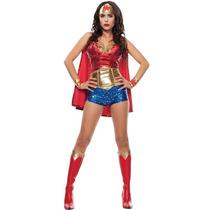 Disfraz Mujer Maravilla Halloween Traje Wonder Women