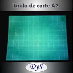 Art. Gráficos, Tabla De Corte A2 45x60 Cms.-zona Norte/sur