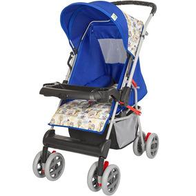 Carrinho De Bebe Magni Azul Príncipe Tutti Baby
