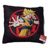 Cojin Para Mueble Sala Dragon Ball Goku Sayayin
