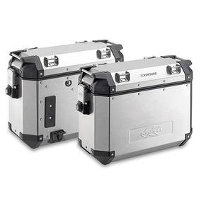 Baules Laterales Aluminio 37 Lts Par Monokey K Venture Kappa