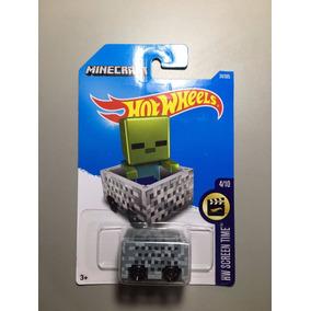 Miniatura Hotwheels Minecraft
