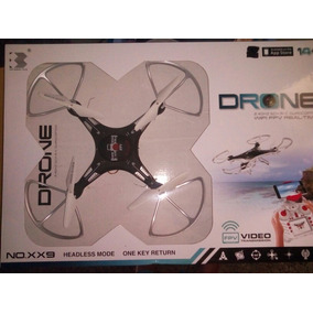 Drone Xx9 2.4 Ghz 6 Ch R/c Wifi Fpv Video Tiempo Real