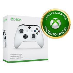Controle Xbox One Sem Fio Branco